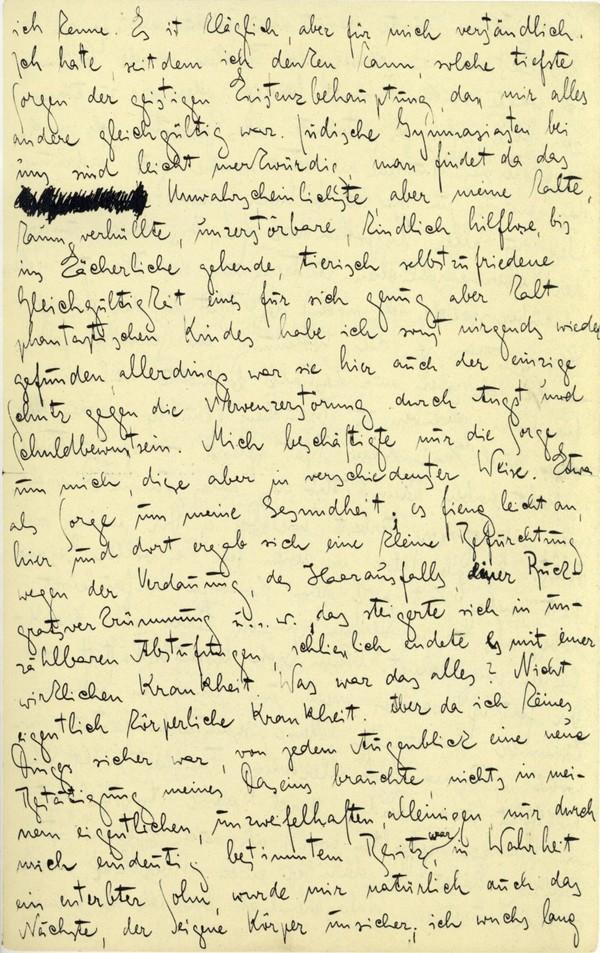 Franz Kakfa ~ Brief an den Vater ~ Seite 075