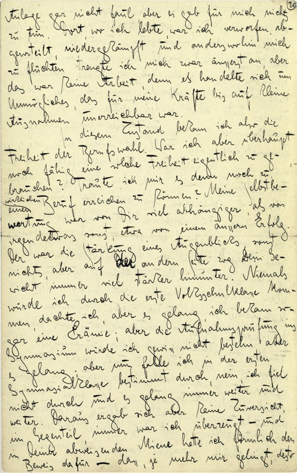 Franz Kakfa ~ Brief an den Vater ~ Seite 077
