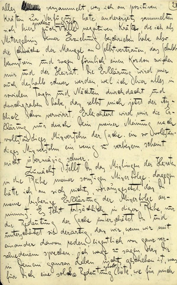 Franz Kakfa ~ Brief an den Vater ~ Seite 081