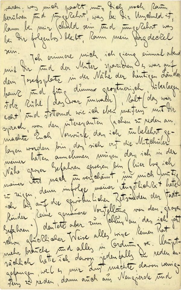Franz Kakfa ~ Brief an den Vater ~ Seite 084