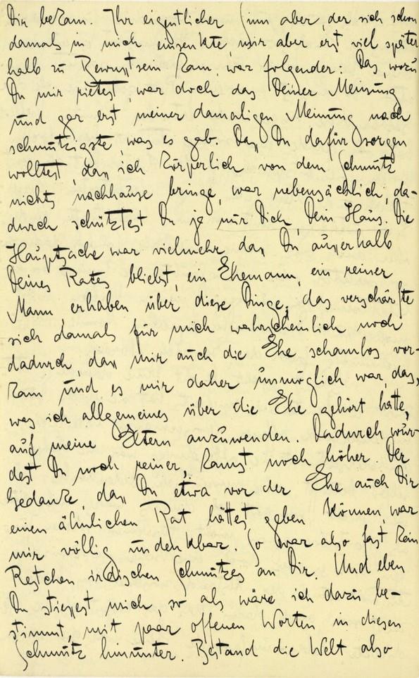 Franz Kakfa ~ Brief an den Vater ~ Seite 086