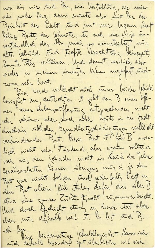 Franz Kakfa ~ Brief an den Vater ~ Seite 087