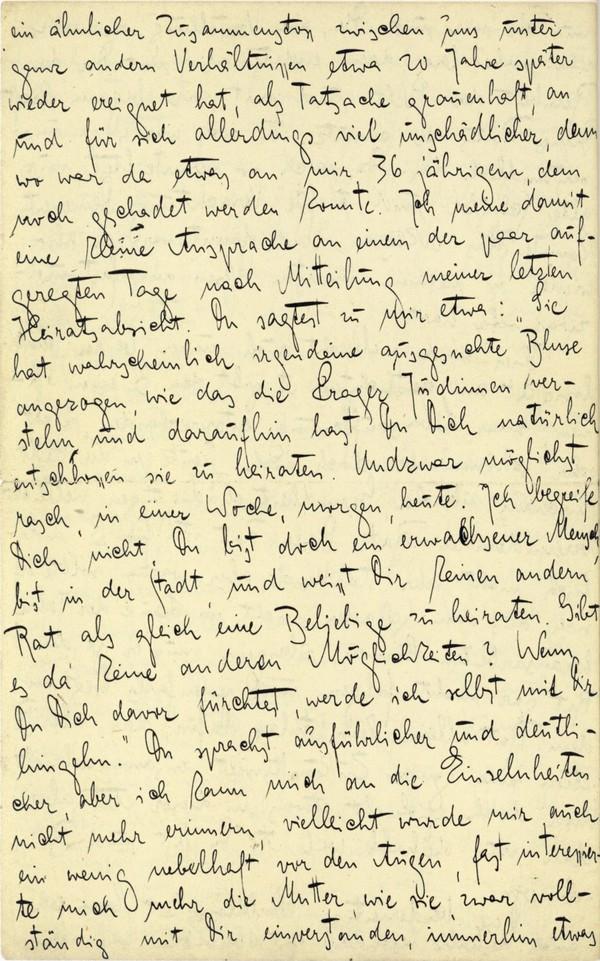 Franz Kakfa ~ Brief an den Vater ~ Seite 088