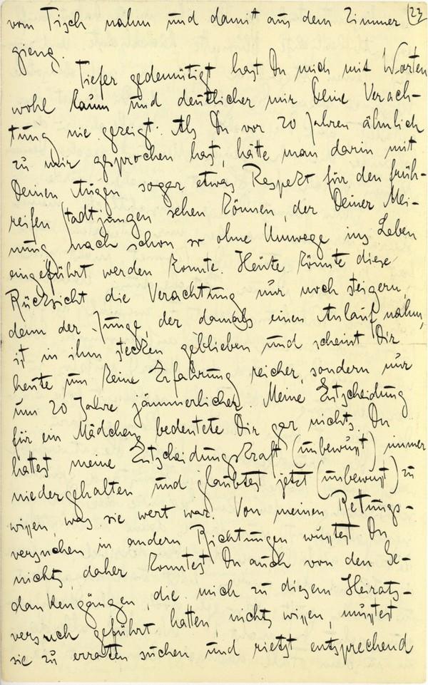 Franz Kakfa ~ Brief an den Vater ~ Seite 089