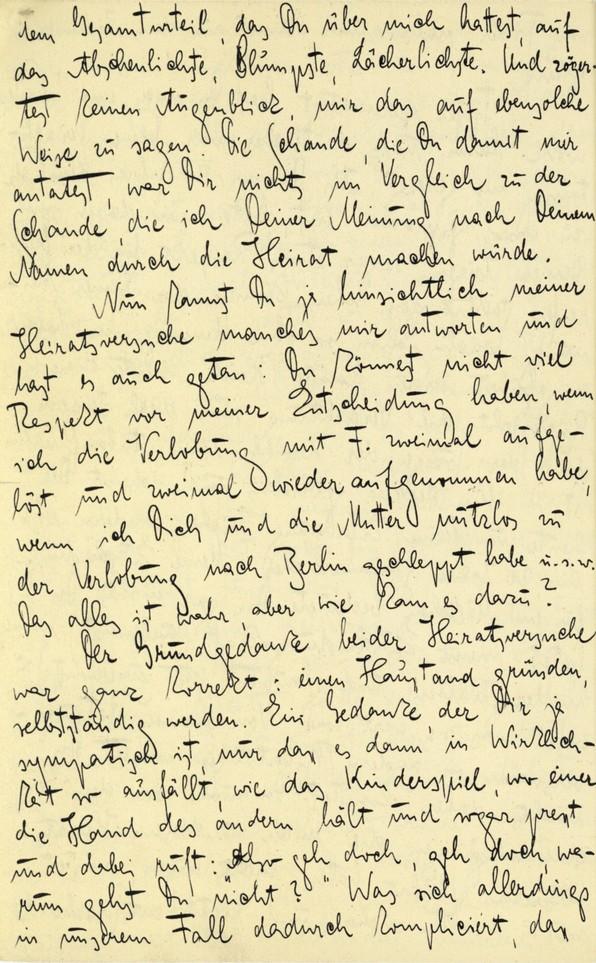 Franz Kakfa ~ Brief an den Vater ~ Seite 090