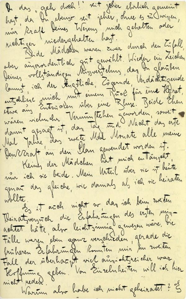 Franz Kakfa ~ Brief an den Vater ~ Seite 091