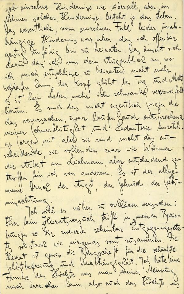 Franz Kakfa ~ Brief an den Vater ~ Seite 092