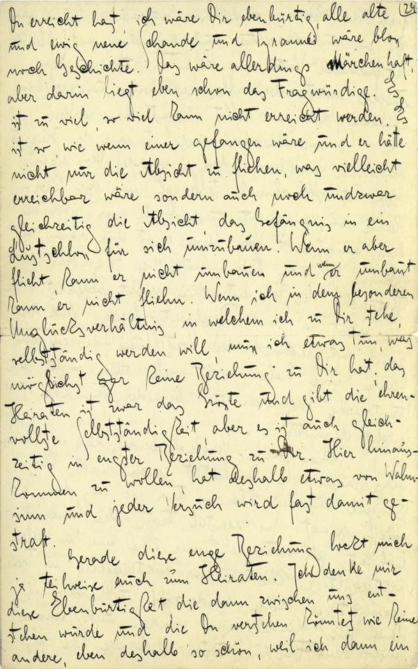 Franz Kakfa ~ Brief an den Vater ~ Seite 093
