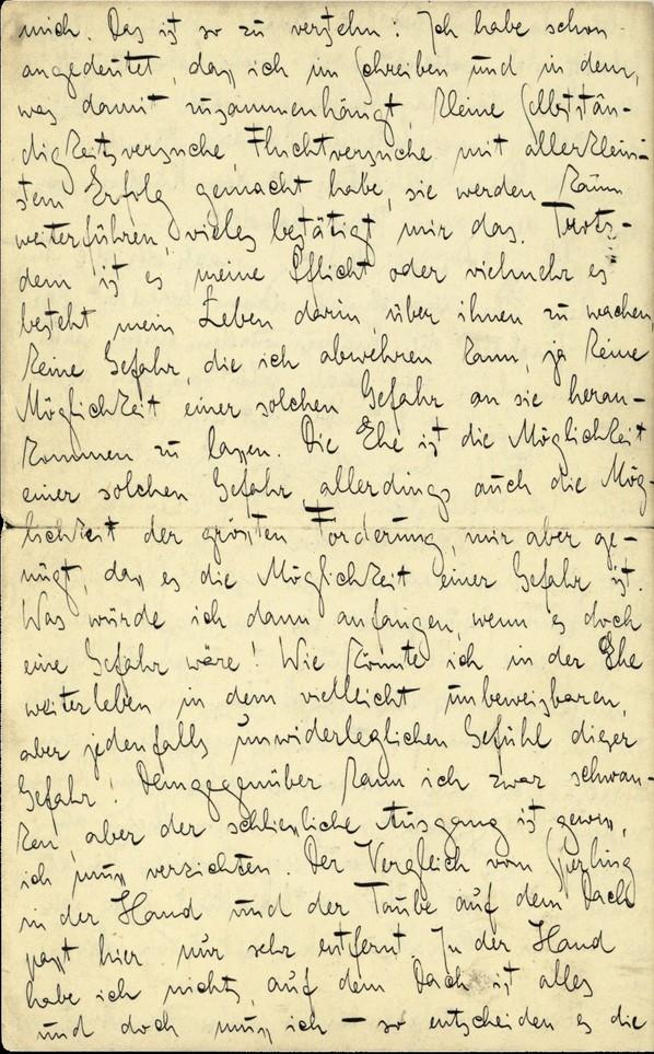 Franz Kakfa ~ Brief an den Vater ~ Seite 096