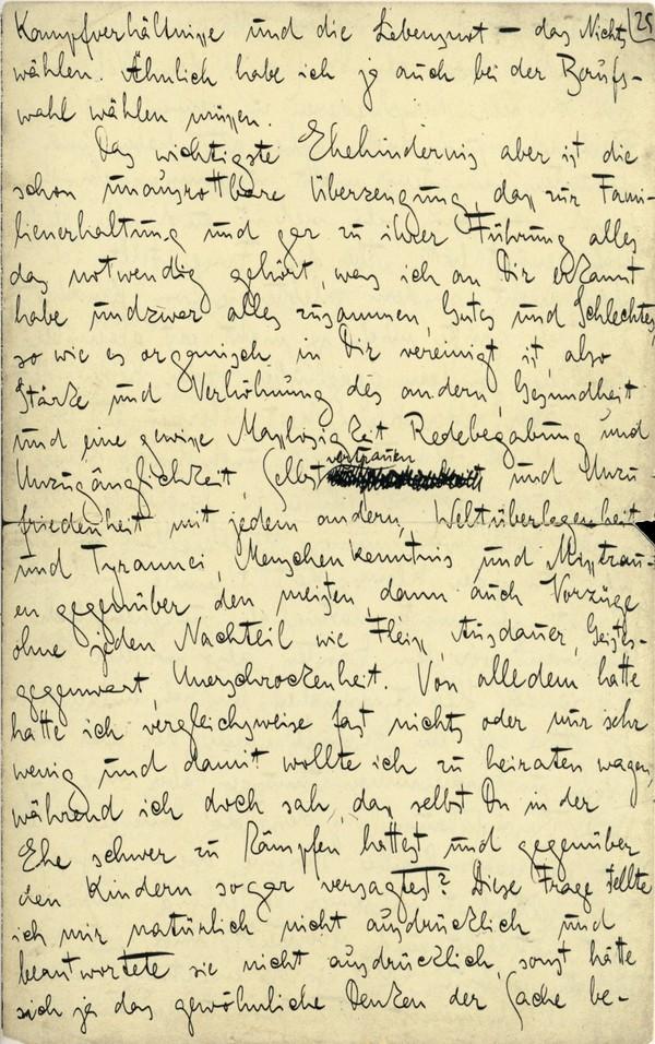 Franz Kakfa ~ Brief an den Vater ~ Seite 097