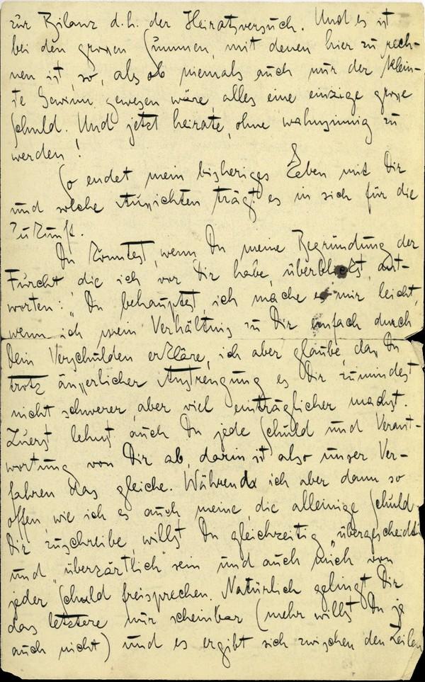 Franz Kakfa ~ Brief an den Vater ~ Seite 099