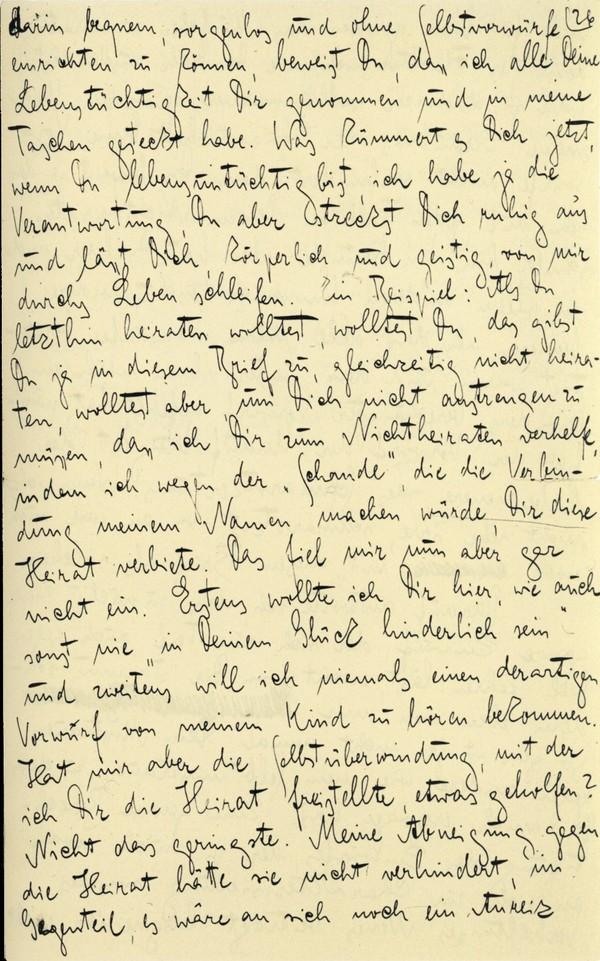 Franz Kakfa ~ Brief an den Vater ~ Seite 101
