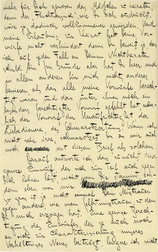 Franz Kakfa ~ Brief an den Vater ~ Seite 102