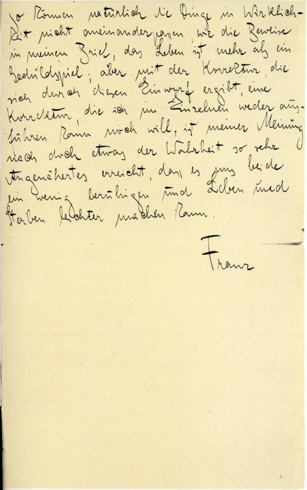 Franz Kakfa ~ Brief an den Vater ~ Seite 103