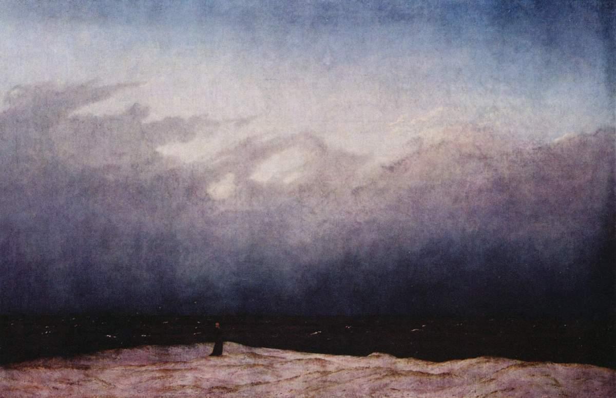 Caspar David Friedrich - Einsamer Mönch