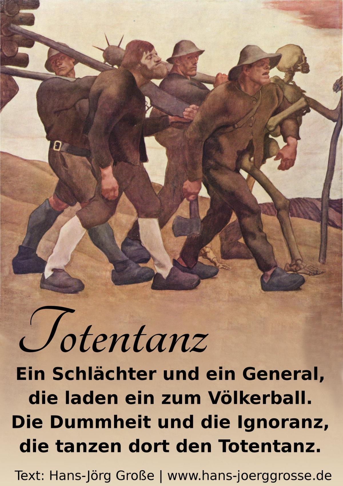 Totentanz ~ Hans-Jörg Große (2014)