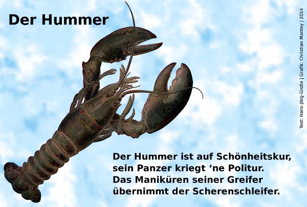 Der Hummer - Hans-Jörg Große (2014)